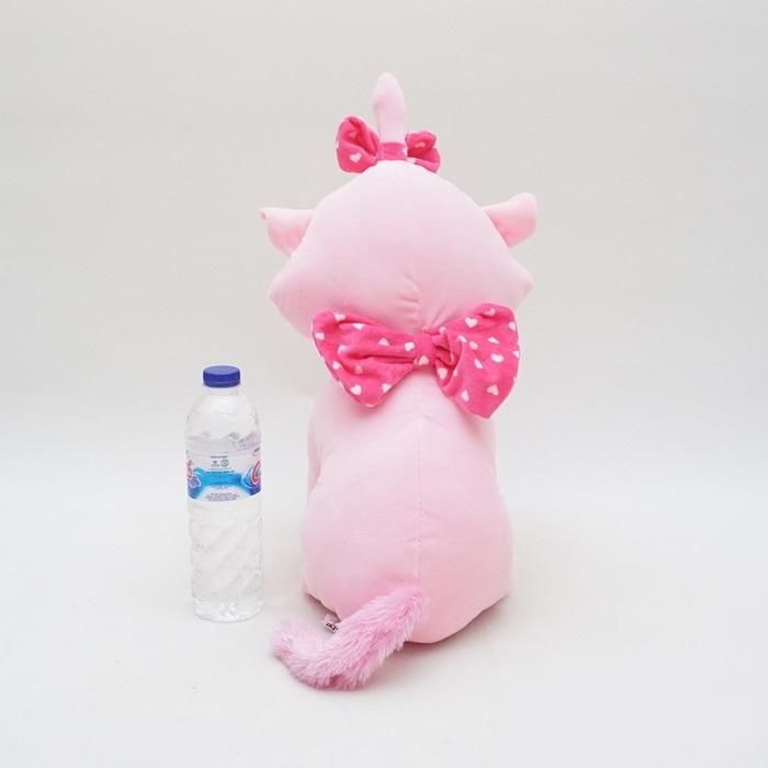 Boneka Kucing Marie Cat Pink Lucu Lembut Halus