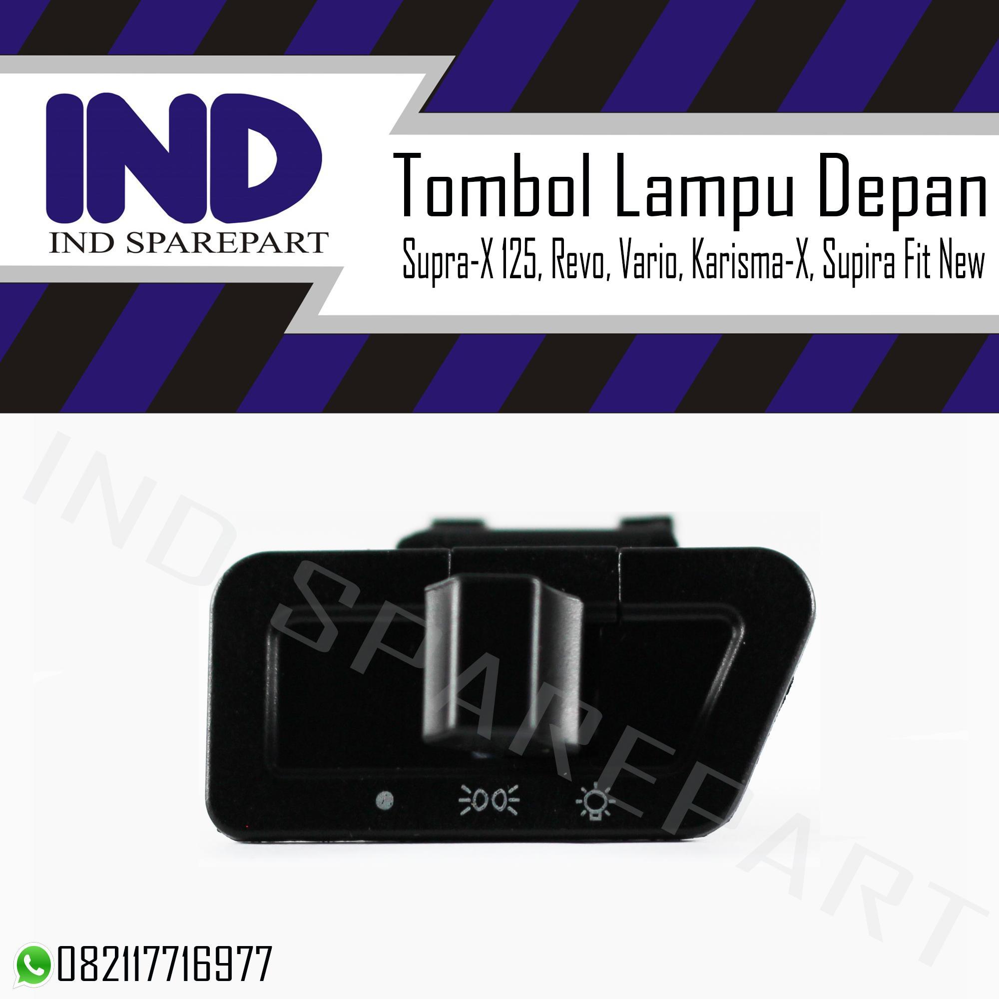 Tombol Lampu Depan Supra-X 125/Revo/Vario/Supra Fit New/Karisma-X