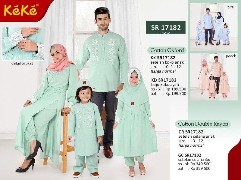 Qonitah Project KK SR 17182 Size 1 Original Keke Busana Koko Anak Lengan Panjang Busana Muslim Baju Muslim Branded