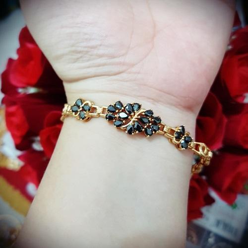gelang hitam cantik xuping