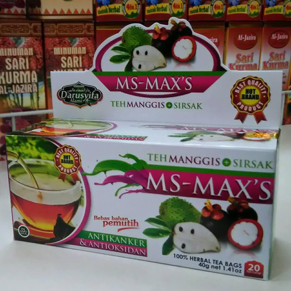 Buy Sell Cheapest Teh Ms Maxs Best Quality Product Deals S Ekstract Kulit Manggis Dan Daun Sirsak Celup Plus Original 4 Ulasan