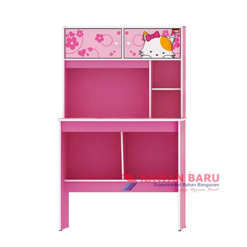 CTF Meja Belajar Activ Happy Kitty MB 80 - Pink