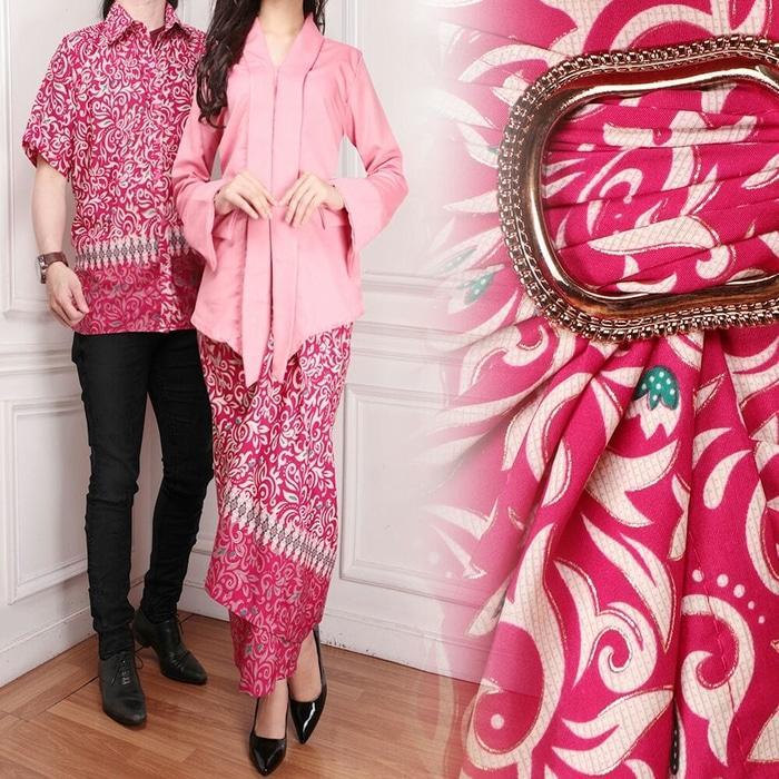 Baju Gamis Muslim Couple - Baju Lebaran Kapel - Pakaian Pasangan - Busana Kapelan - Sama - Samaan - Sepasang - Seragam - Kemeja Batik Dress
