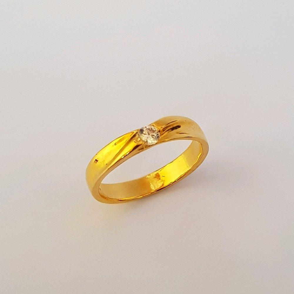 Pilihan Terbaik Cincin Emas Asli Kadar 875 emas 21k / Cincin Kawin / Cincin Tunangan / Perhiasan Emas Wanita / Gold Rings