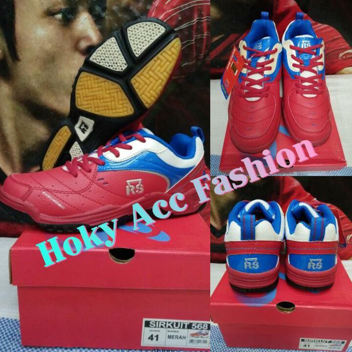 Sepatu Badminton RS Sirkuit 568 (Original) - yvobiI
