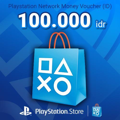 Playstation Money Voucher (ID) 100.000