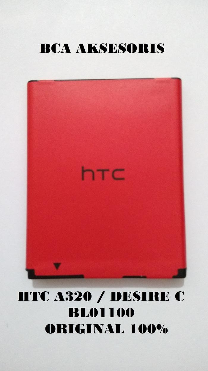 BATTERY BATRE BATERAI HTC A320 / DESIRE C / BL01100 ORIGINAL 100%