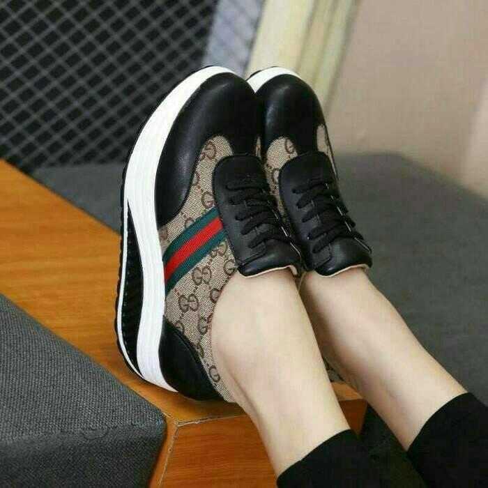 SEPATU GC TALI HITAM CANTIK   sepatu   sepatu murah   sepatu boots   sandal  flat cb0042c36f
