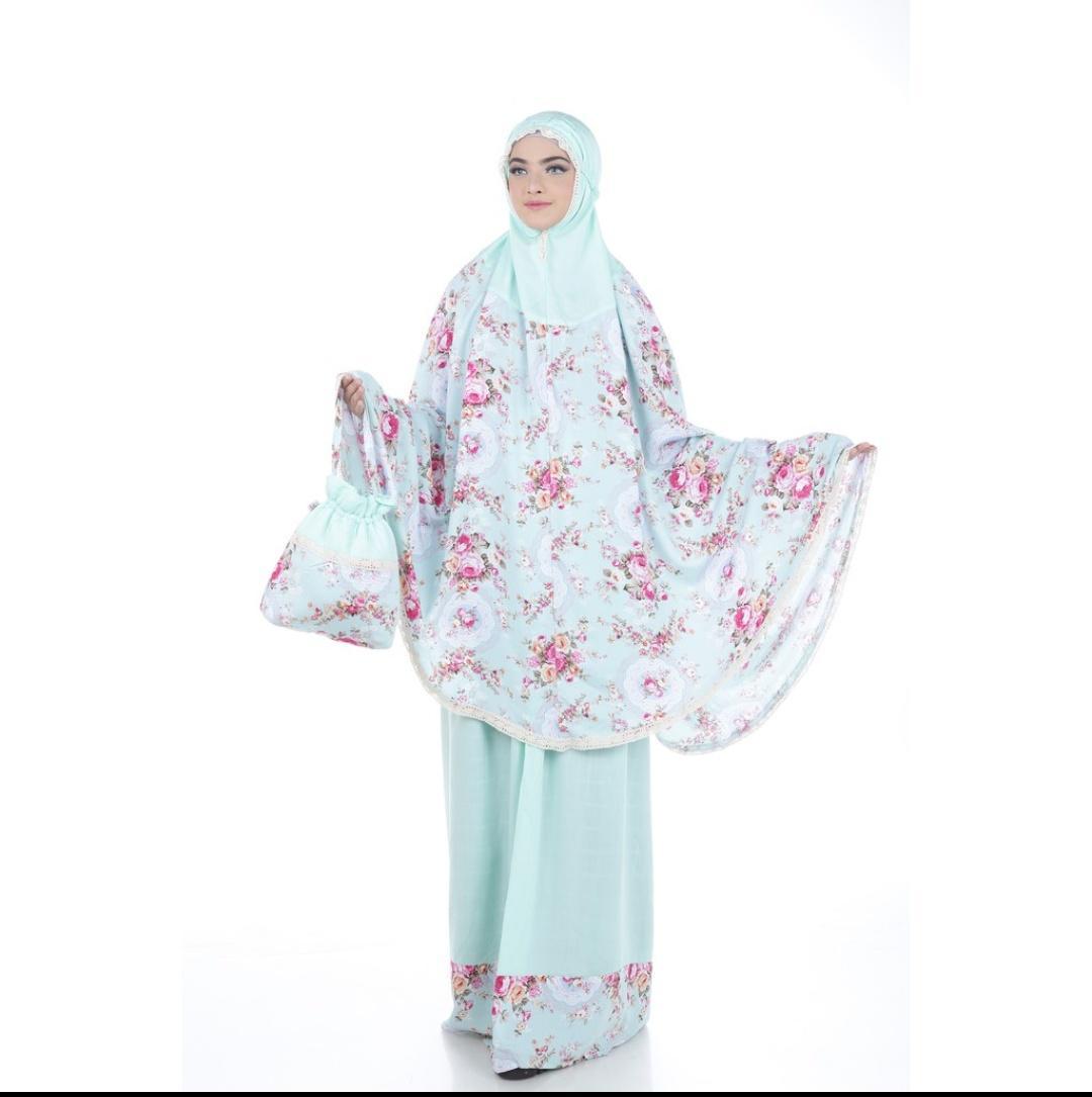 Setelan mukena wanita muslim/pakaian couple/mukena ibu dan anak/mukena wanita/perlengkapan shalat wanita/baju muslim wanita/pakaian fashion wanita/baju muslim dan jumpsuit terbaru