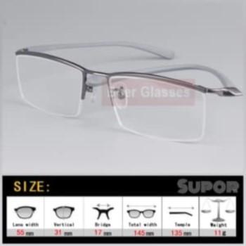 kacamata HF8 Lensa Leinz Photochromic Cylinder Minus tinggi