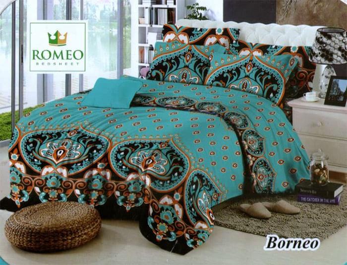 Bedcover Romeo ukuran 180 x 200 / King / No.1 - Borneo