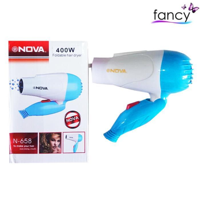 Hair Dryer NOVA 400W Foldable (Dapat Dilipat)