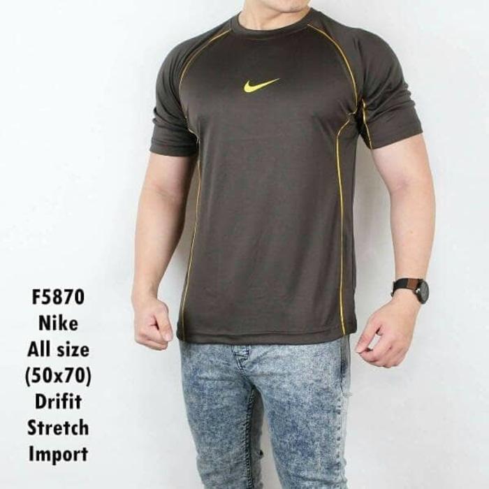 Kaos Gym Kaos Fitnes Baju olahraga - 2VhhF9