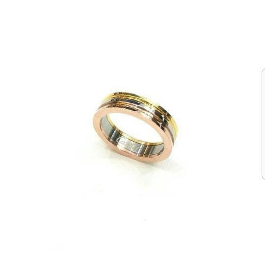 Cincin - Cartier Tri Colour Ring