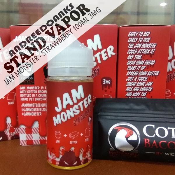 jam monster jam strawberry jam 100ml by jammonster liquid usa premium