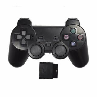 Bộ Điều Khiển Không Dây GloryStar Tay Cầm Điều Khiển Rung 2.4G Màu Trong Suốt Dành Cho Playstation 2 thumbnail