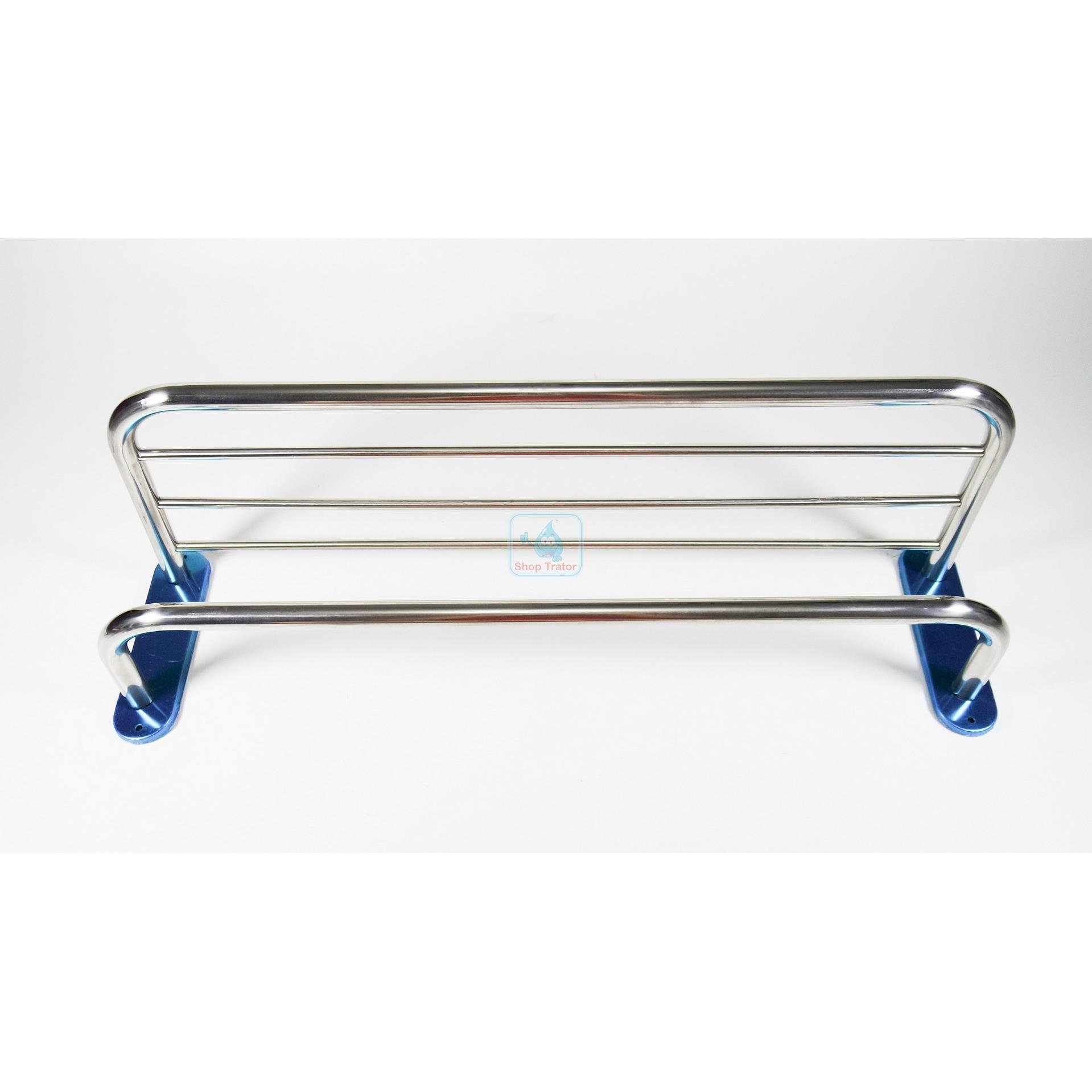 Look Single Rail Towel Hanger Rack Stainless Steel 50 Cm Gantungan Toto Tx701ag Bar Tempat Handuk Gambar Produk Rinci Rak 5 Susun Murah Terkini