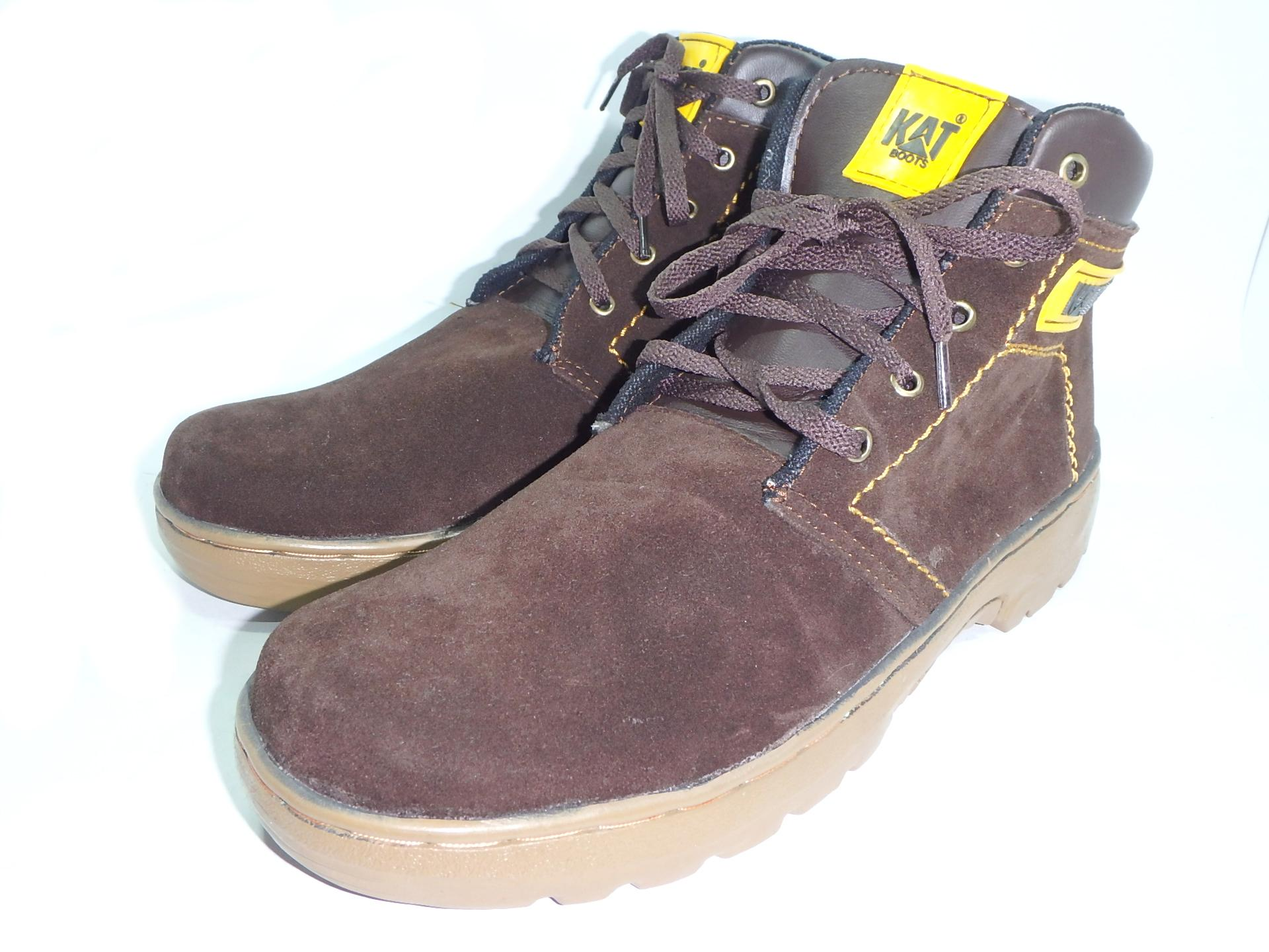 safety shoes sepatu boots kerja pria justin
