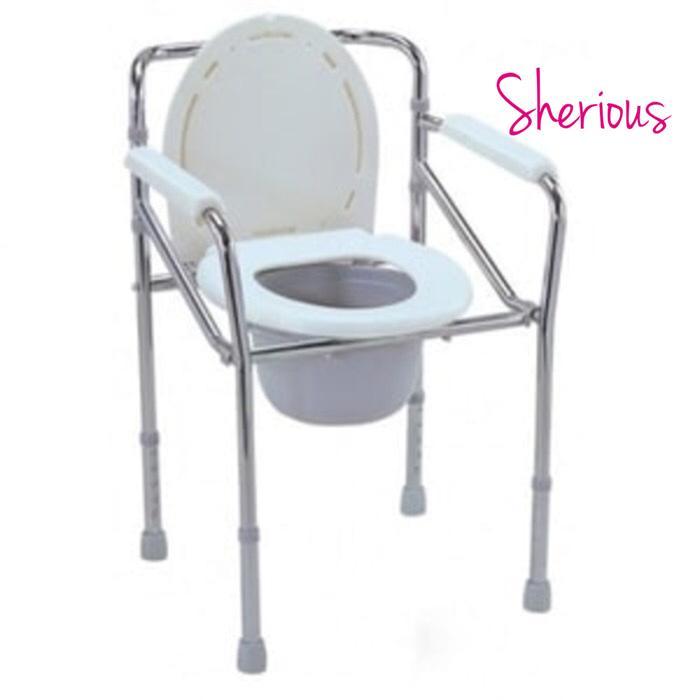 Commode Chair - Kursi Tempat BAB - Deluxe Commode Chair - Pispot BAB Promo Terlaris