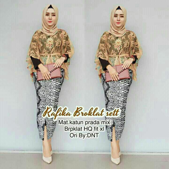 a7239dc9ab6fc318d2039047d8f6b7ab Review List Harga Model Gaun Muslim Batik Kombinasi Brokat Terbaik waktu ini