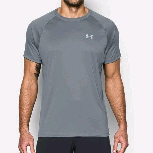 T-shirt under armour heatgear RUN original di jamin asli bukan tiruan not nike puma reebok asics adidas