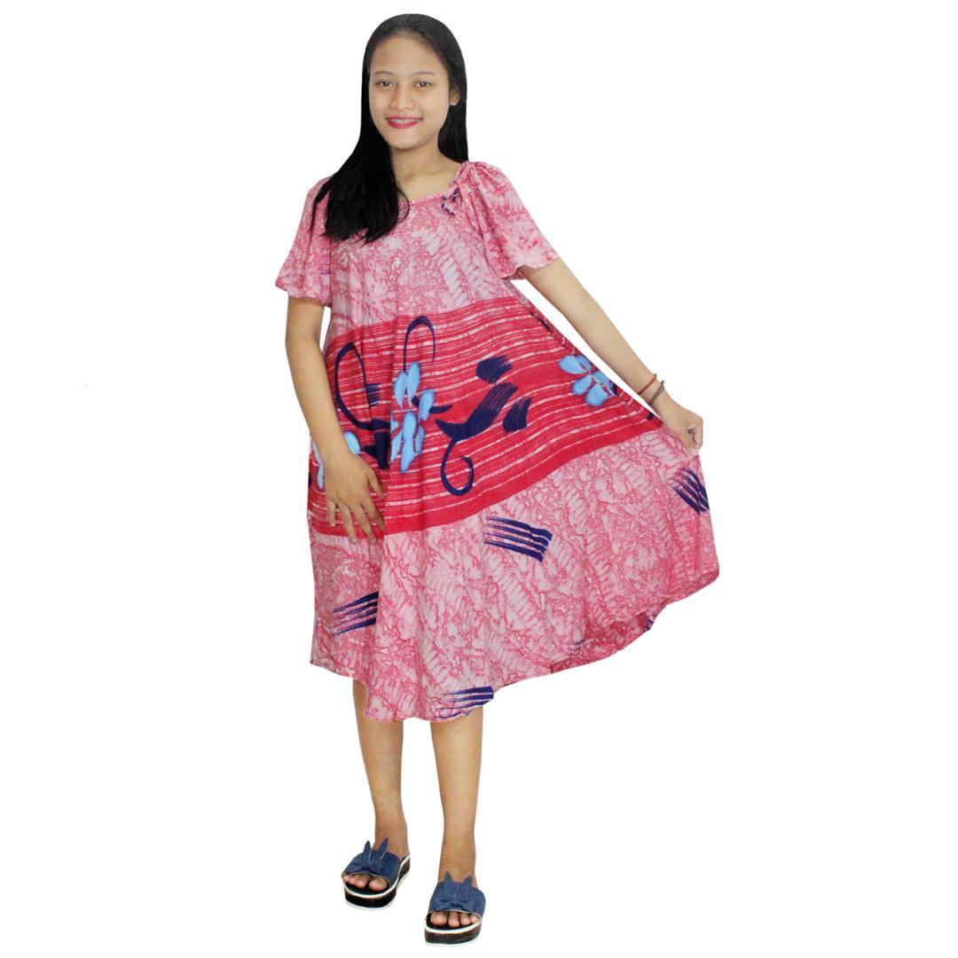 Daster Payung, Klok Batik, Baju Tidur, Piyama, Leher O (DPT005-38) BatikAlhadi Online