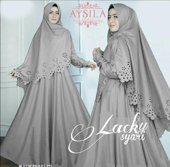 Jakarta Couple - Syari'i Rosita /Syari Maxi Cantik /Baju Gamis Muslim/ Gamis Mutiara / Gamis Murah / Atasan Muslim Wanita / Pakaian Baju Muslim