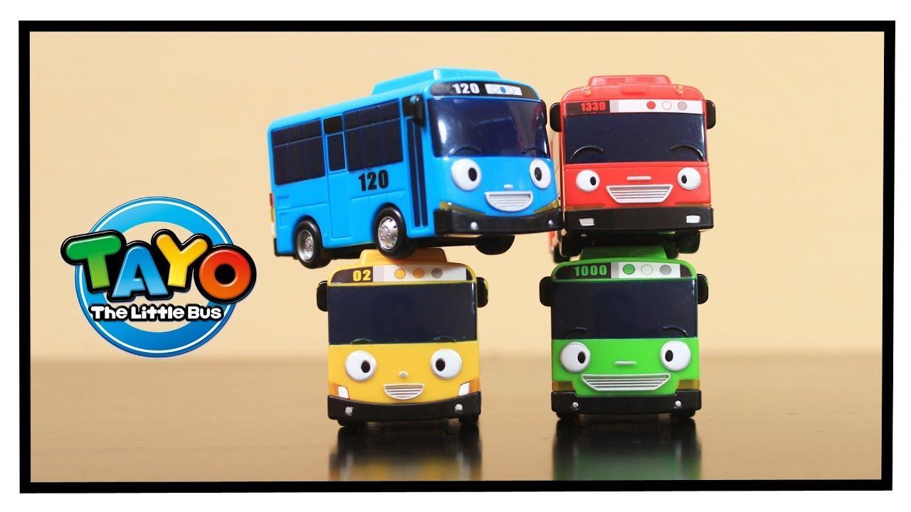 The Cheapest Price Tayo Little Bus Garasi Pull Back 4 In 1 Set Mainan Pcs Marcase Driving Game Car Play Anak Mobil Bis Karakter Rogi Lani Gani