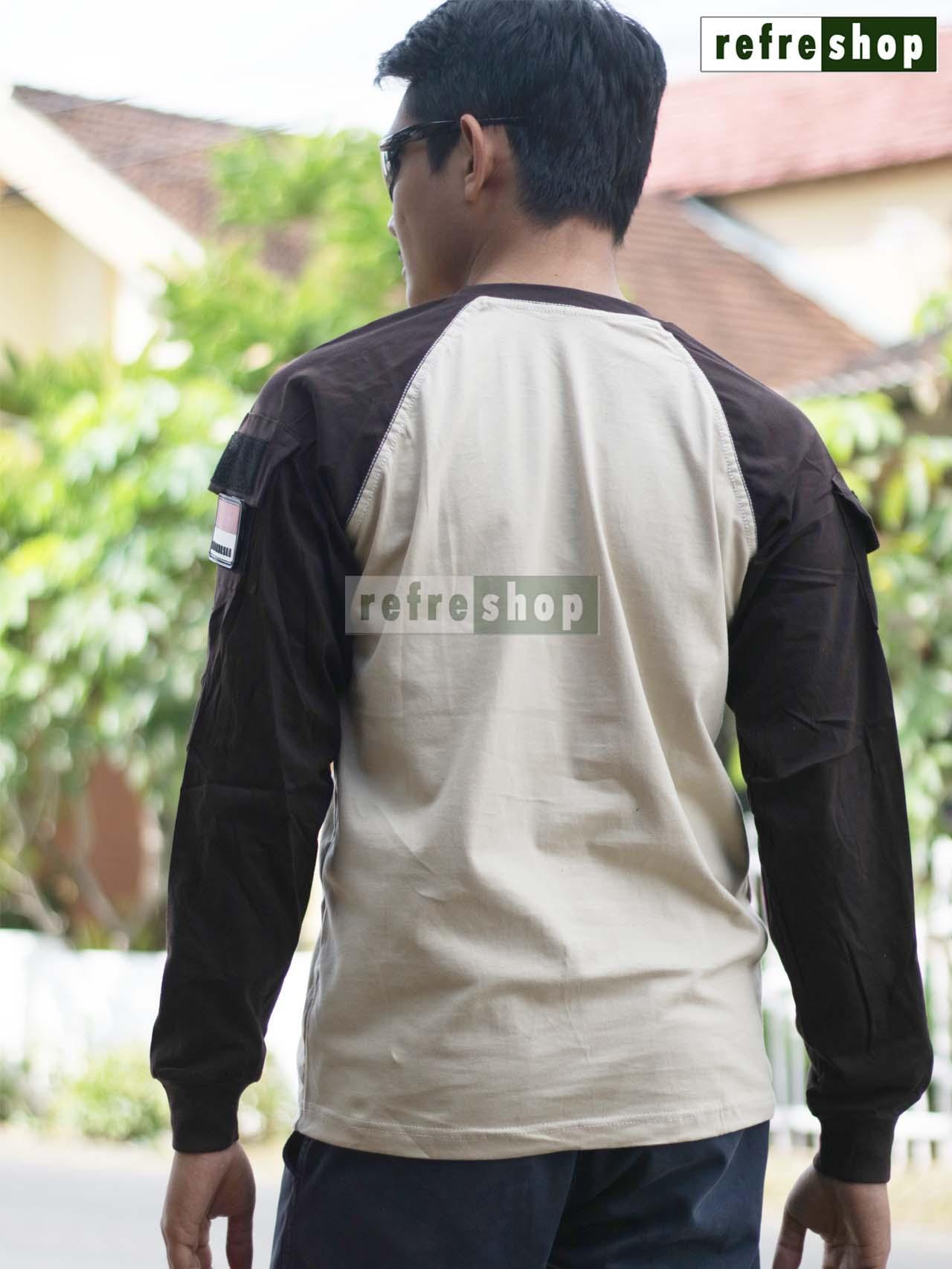 ... Kaos Tactical Army Lembut Adem Nyaman Awet Cotton Tebal Berkualitas KTCP0102DD - 3 ...