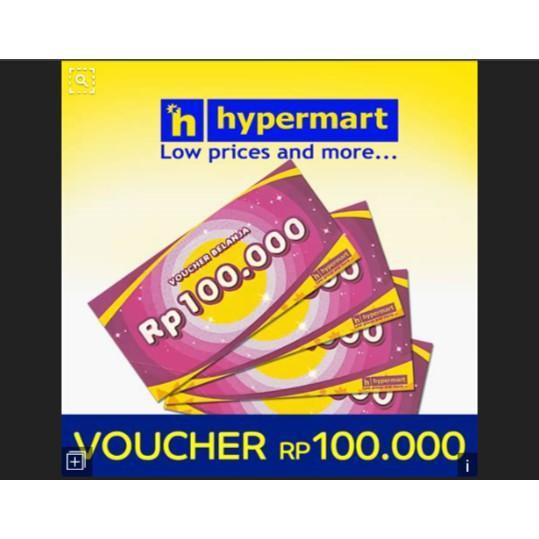 Voucher Hypermart 100Rb E2050