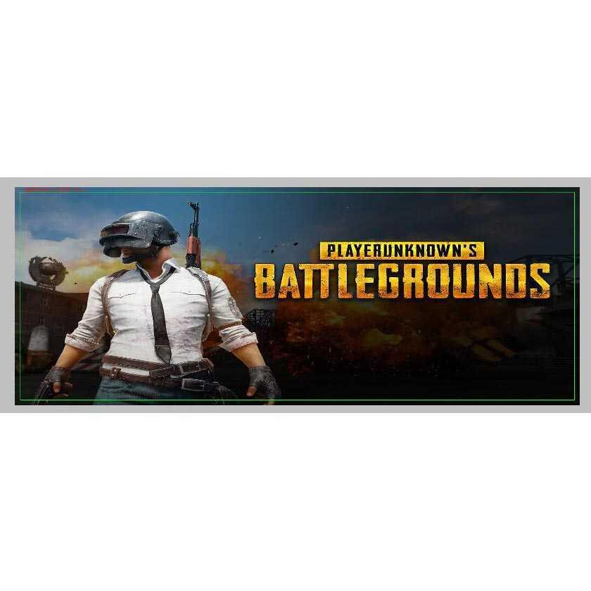 Gaming Mouse Pad Desk Mat Desain Game Online 400x900x2mm -PUBG