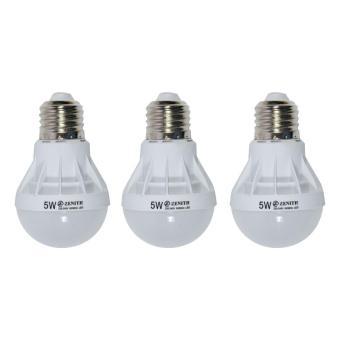 Pencari Harga WEITECH LAMPU BOHLAM LED ZENITH HEMAT ENERGI DAN AWET 5 WATT 3 PCS terbaik