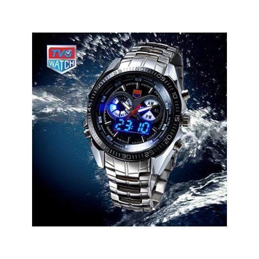 Harga jam tangan pria cowok tvg sk780 original rantai silver | HARGALOKA.COM