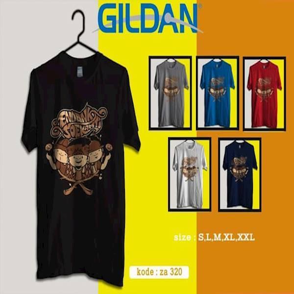 Kaos  ENDANK SOEKAMTI Band  Tag Origiinal Gildan Softstyle