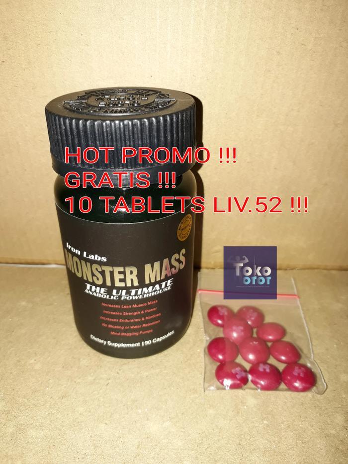 Monster Mass 90caps (Asli/sama persis dengan foto yang di etalase) - ukTtvl