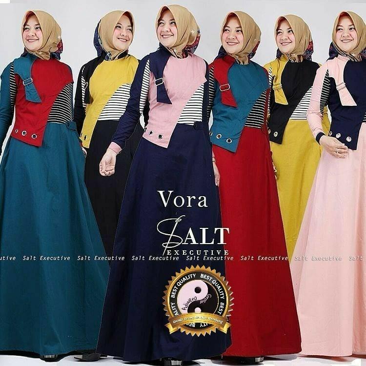baju salt executive dress gamis wanita busana muslim murah terbaru
