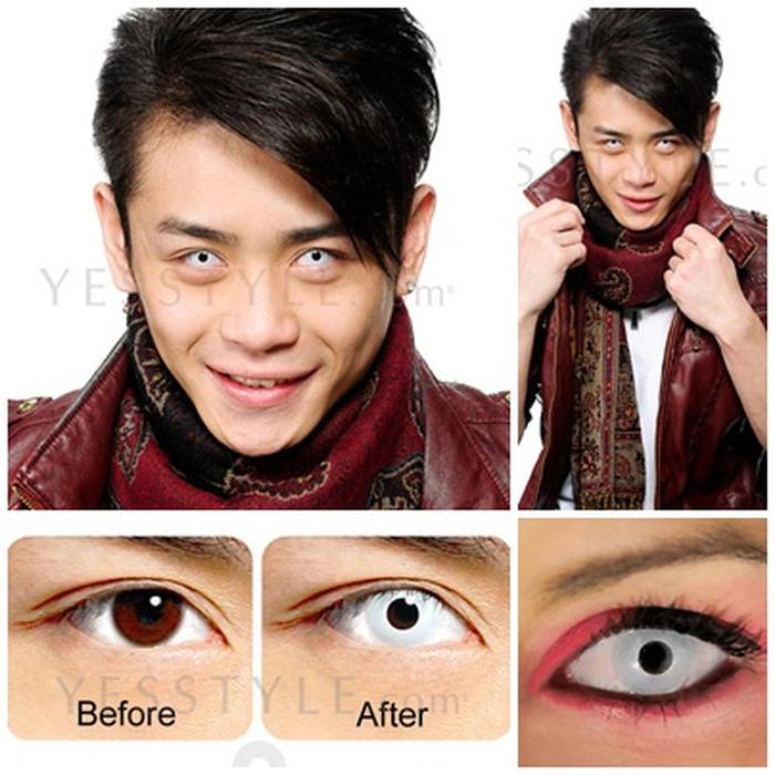 Promo Acessoris Warna Mata  Softlens Geo Anime Cosplay CP-F1 14Mm