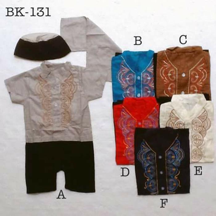 Baju koko bayi best seller - baju muslim laki laki original - baju koko anak putih terlaris - baju koko anak bordir terbaik dan termurah