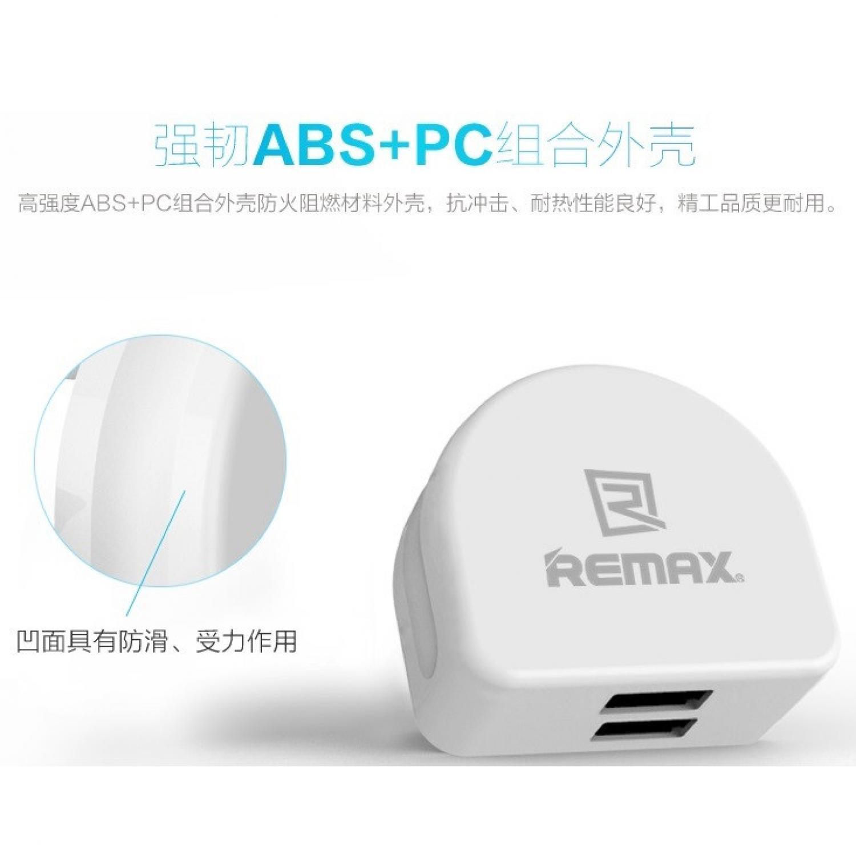 Remax 31a 3 Ports Usb Charger Moon Spec Dan Daftar Harga Terbaru Car Port 36a Crescent Series Adapter Eu Plug