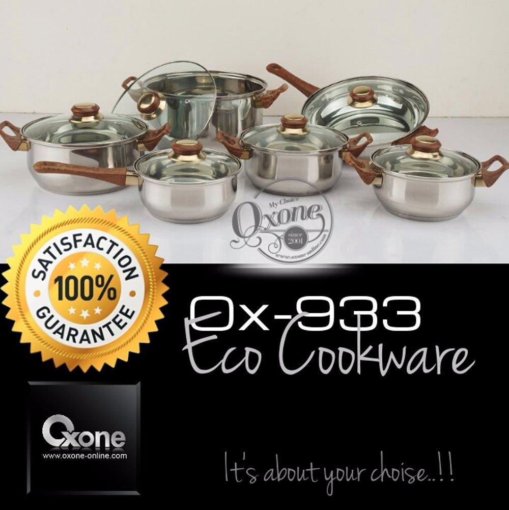 Harga Panci Stainless Steel Oxone Terbaru 2018 Cari Produk Ox 1060f Presto 5in1 Termurah Set Eco Cookware Original Ox933 933