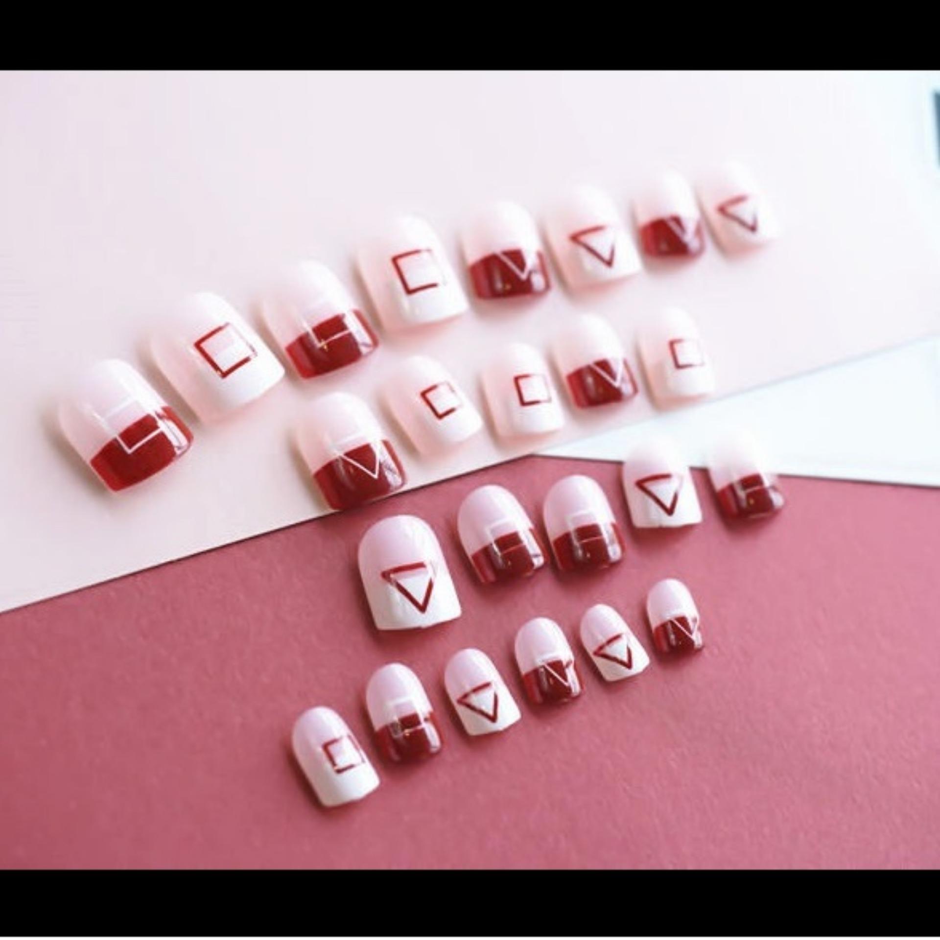 Fitur Kuku Palsu Jbs Nails Fake Nail Art Wedding 3d A12 Dan Harga Simple A13 5