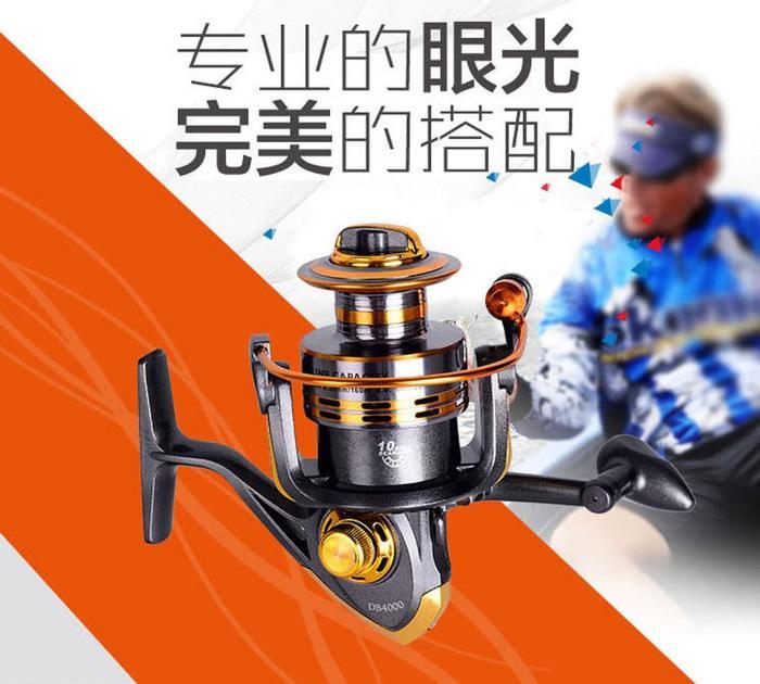 Katrol Reel Ikan Besar Mancing/Pancing profesional 10 ball Bearing - y8TqI8
