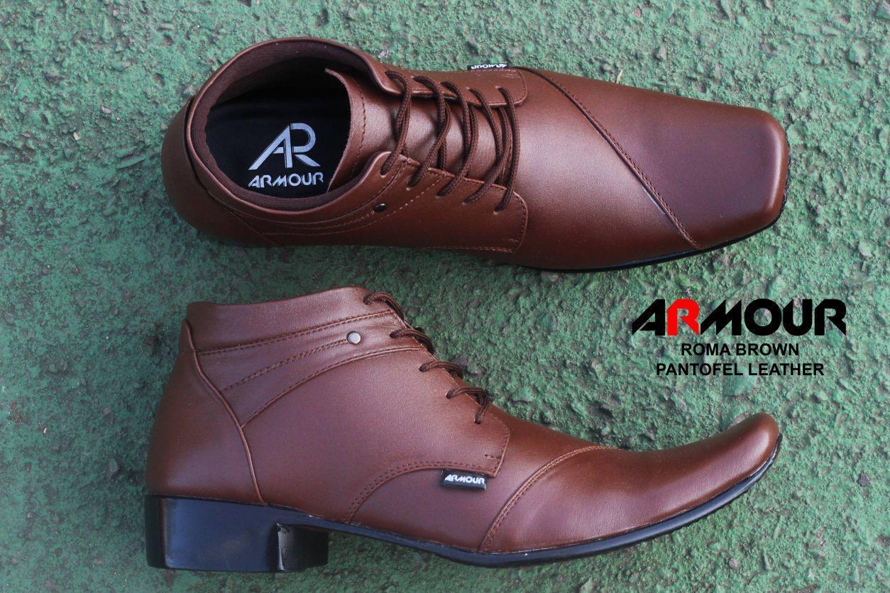 Sepatu Kulit Sepatu Kerja Pria Branded - A3 Hitam coklat pantopel pantofel vantofel Sepatu VR 390 Sepatu Formal Pria Untuk Kerja Kantor Kulit Sintetis - Hitam Amelia Olshop - Sepatu Pantofel Pria / Sepatu Kantor Idaman Lelaki - Hitam