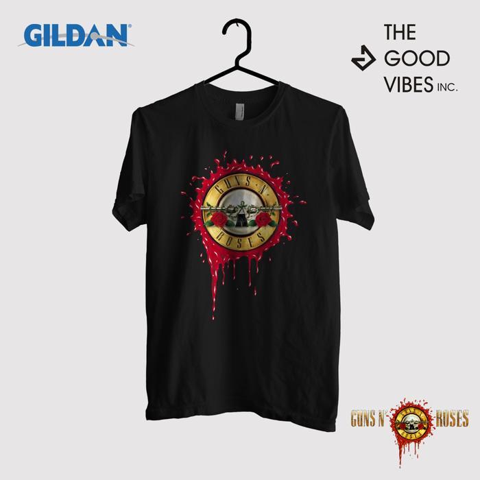 Kaos Band Guns And Roses Original Gildan - Paradise City