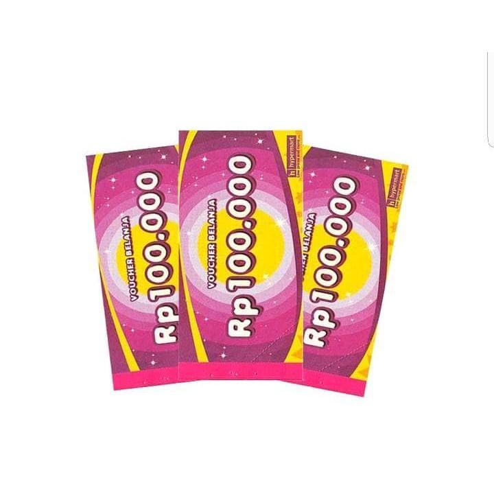 VOUCHER HYPERMART RP 100.000 R4077