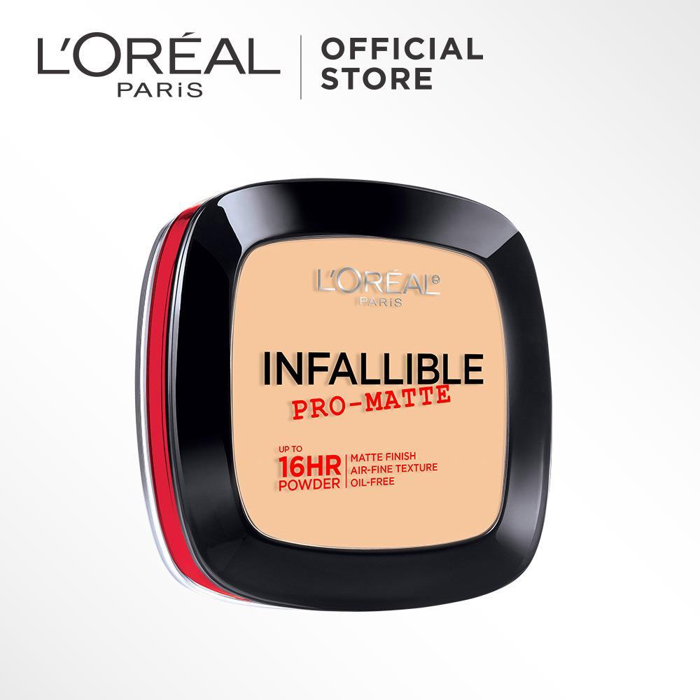 L'Oreal Paris MakeUp Powder Infallible Pro Matte - Nude Beige