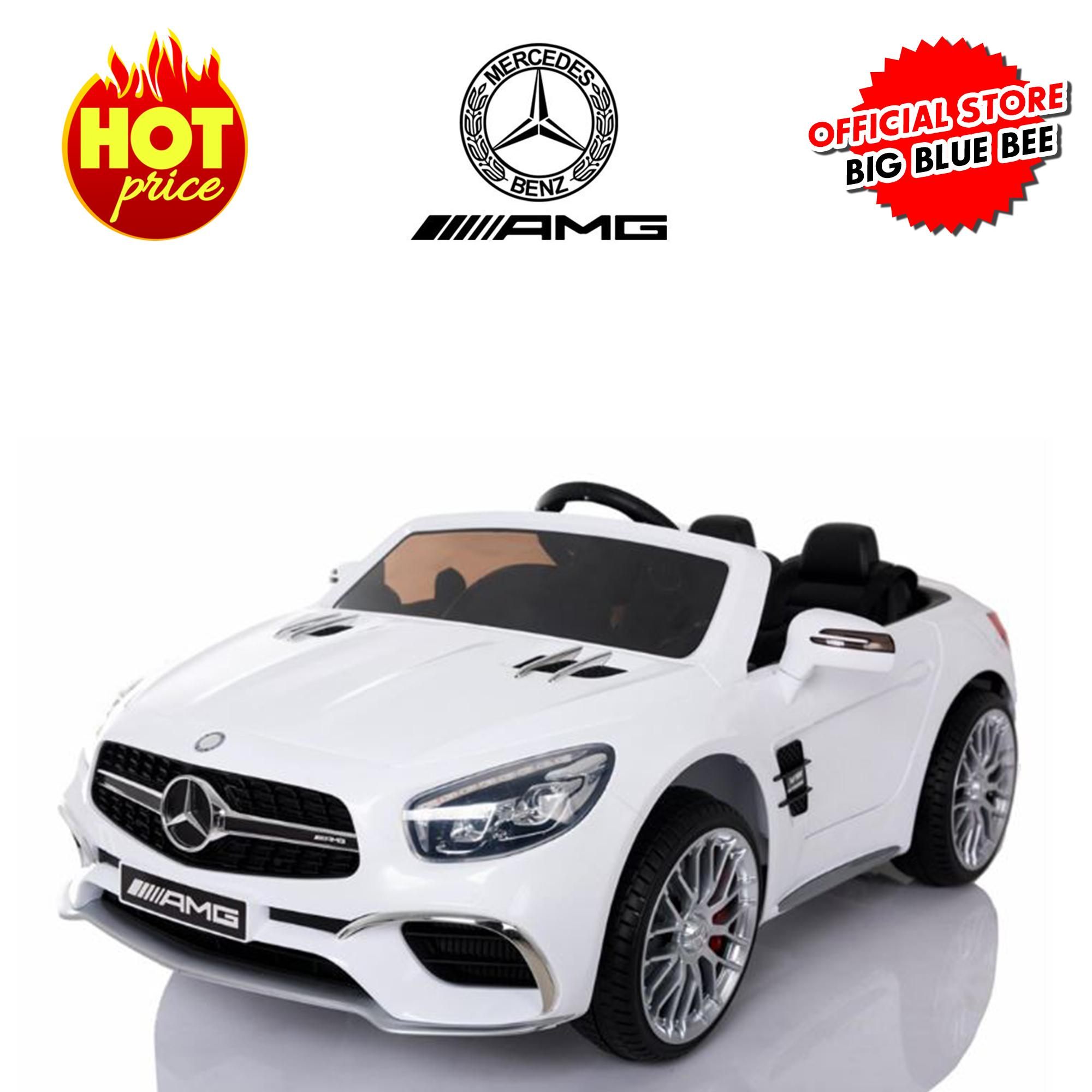Autowheelers Mercedes Benz SL 65 AMG 12V Battery Ride-On Electric Car Mobil-mobilan