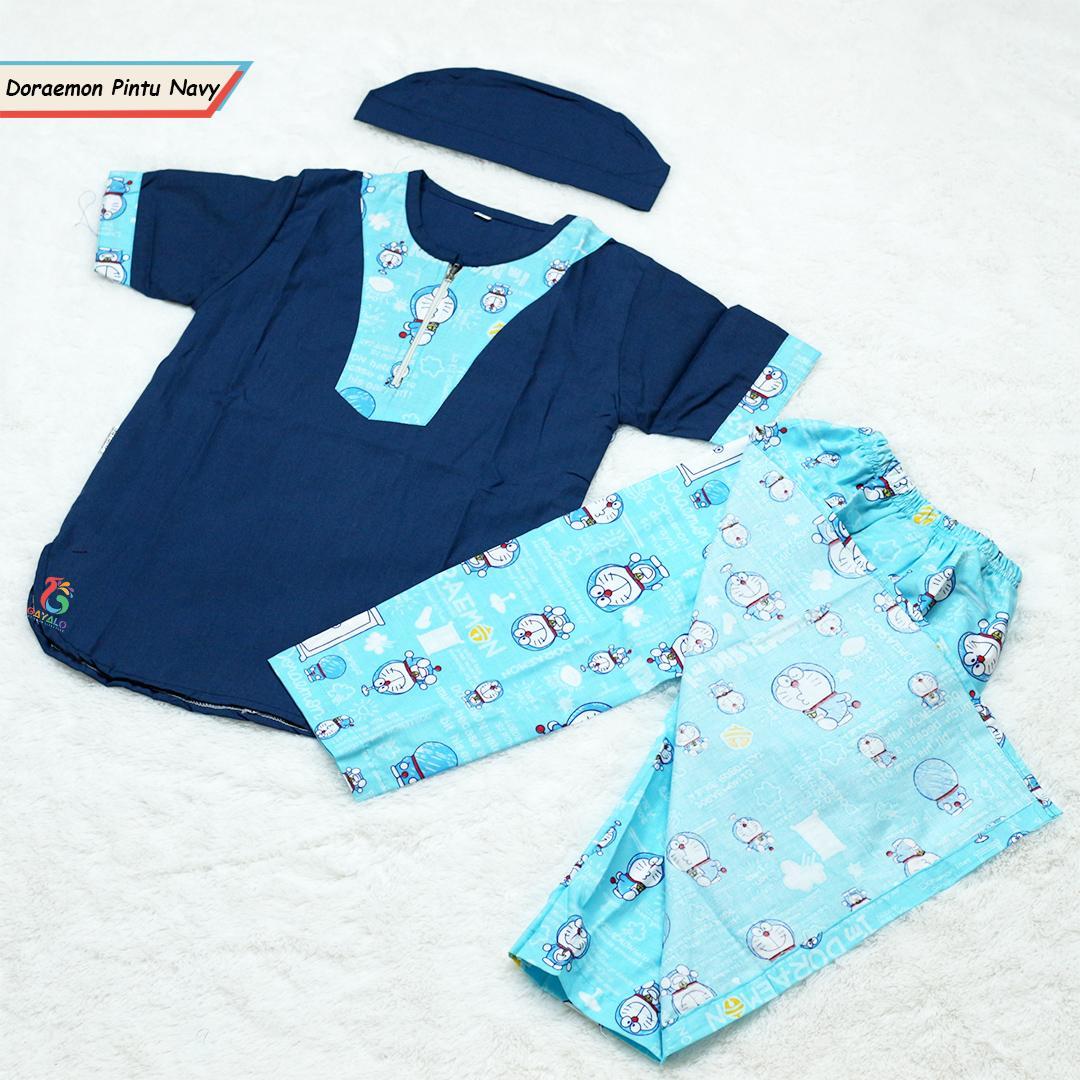 Buy Sell Cheapest Sarkoci Anak Size Best Quality Product Deals Baby Usia 1 Tahun Doraemon Pintu Navy 2 10 Murah Meriah