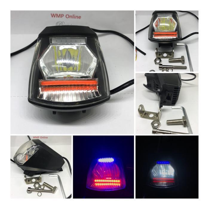 Lampu Tembak Cree A06X 20W plus USB RBR Angel Running WMP-0335