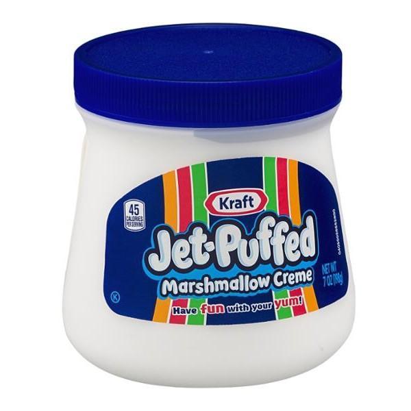 TERMURAH DAN TERBARU Kraft Jet Puffed Marshmallow Creme 198 Gram Made In USA (Small)